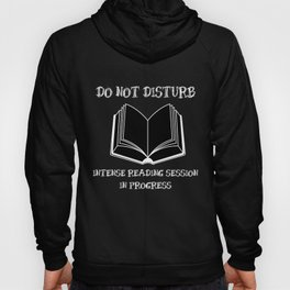 Do Not Disturb (White on Black) Hoody