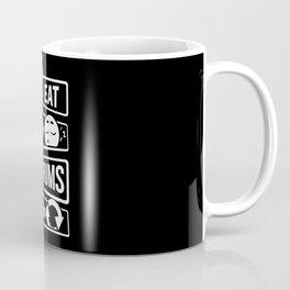 Eat Sleep Drums Repeat - Drummer Music Instrument Coffee Mug