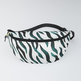 Here Kitty Kitty - Teal Fanny Pack