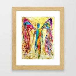 """""""Angel of Color"""" Framed Art Print"""