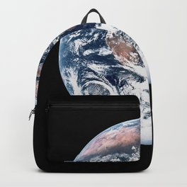 Apollo 17 - Iconic Blue Marble Photograph Backpack