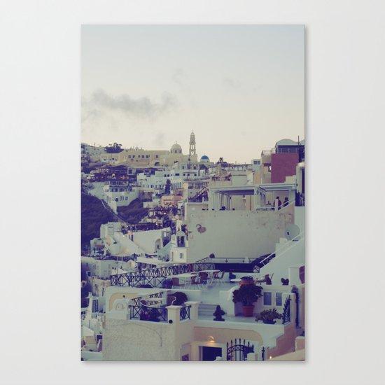Fira at Dusk IV Canvas Print