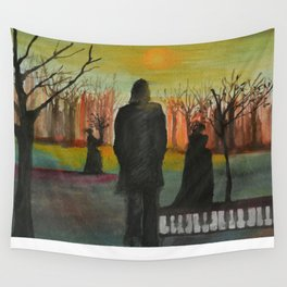 Track 2: The path of the righteous man.   Wall Tapestry