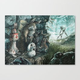 The Carrot Squad Canvas Print