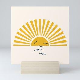 Minimalistic Summer I Mini Art Print