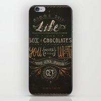 forrest gump iPhone & iPod Skins featuring Forrest Gump by dianahan