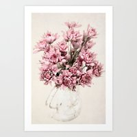 blush Art Prints featuring Blush by  Robin-Lee