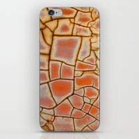 cracked iPhone & iPod Skins featuring Cracked by Kathy Dewar
