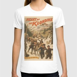 Vintage poster - Heart of the Klondike T-shirt