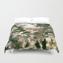 spring is inspiration Duvet Cover