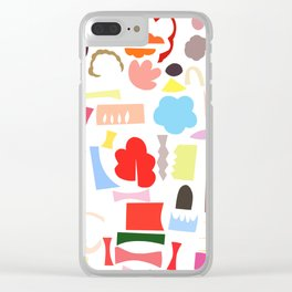 la ville II Clear iPhone Case