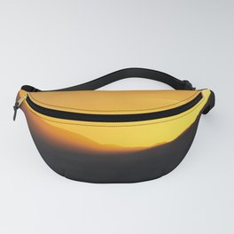 Sunset Mountain Silhouettes Fanny Pack