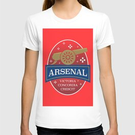 North London Red Football T-shirt