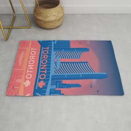 Toronto Nathan Phillips Square Canada by Cindy Rose Studio Rug