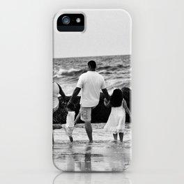 Kicking Waves iPhone Case