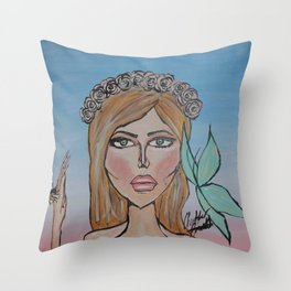 Heaven - Bright Edition Throw Pillow