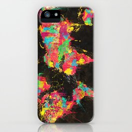 Psichedelic Continents iPhone Case