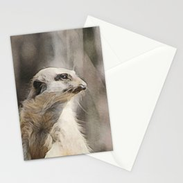 WColor Meerkat Stationery Cards