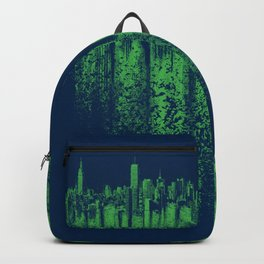 Green city Backpack