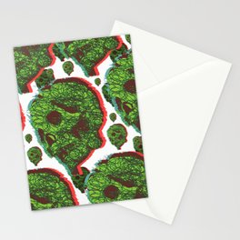 Plant skull  Stationery Cards