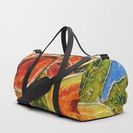 Lively garden | Jardin animé Duffle Bag