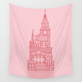 Copenhagen (Cities series) Wall Tapestry