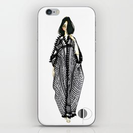 Her Kaftan iPhone Skin