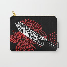 Tribal Scuba Flag Lionfish Carry-All Pouch