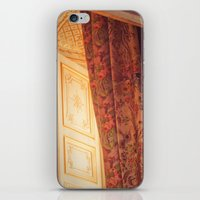 marie antoinette iPhone & iPod Skins featuring Antoinette by French Californian
