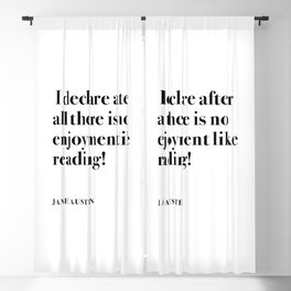 I DECLARE AFTER ALL  Blackout Curtain