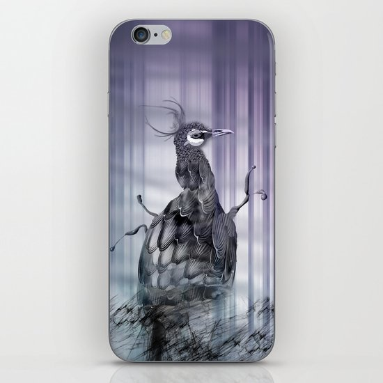 A perfect day between peacock! iPhone & iPod Skin