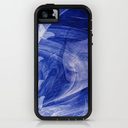 Butterfly wishes in blue iPhone Case
