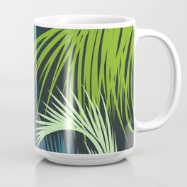 Palm Leaf, Tropical Leaves Coffee Mug