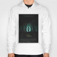evil dead Hoodies featuring Evil Dead (2013) Movie Poster by desistfilm