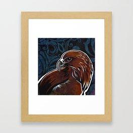 golden eagle Framed Art Print