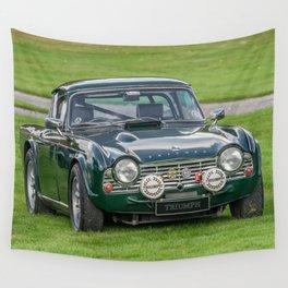 Triumph Sports Car Wall Tapestry