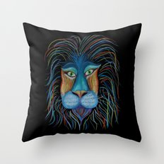 Colorful King Throw Pillow