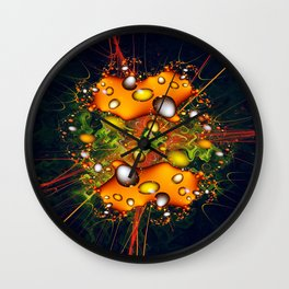 Galaxy Explosion Wall Clock
