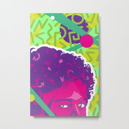 SCREECH :: Memphis Design :: Saved By the Bell Series Metal Print