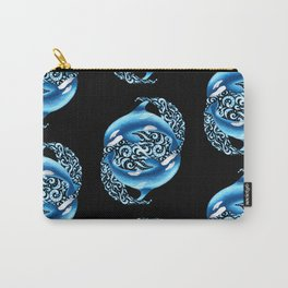 Orca Pattern Carry-All Pouch