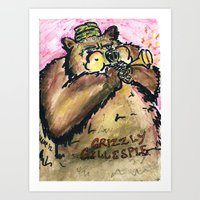 Grizzly Gillespie Art Print