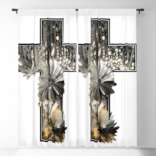 Fluid Art Cross by dodiesart