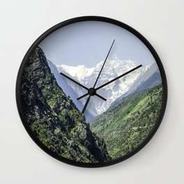 Valle Nevado - Chile Wall Clock