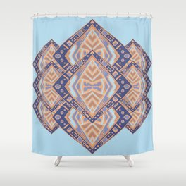BangWa Thirteen Shower Curtain