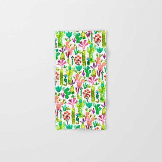 Cacti garden Hand & Bath Towel