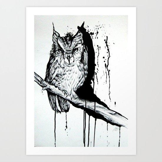 O W L Art Print