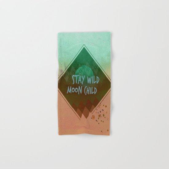 Stay wild vintage Hand & Bath Towel