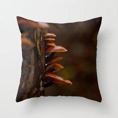 Mushrooms. Throw Pillow