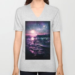 Mystic Waters Mermaid Gradient Unisex V-Neck
