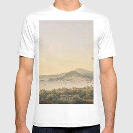 Naples From Sir William Hamilton's Villa, 1780-1782 by John Warwick Smith T-shirt